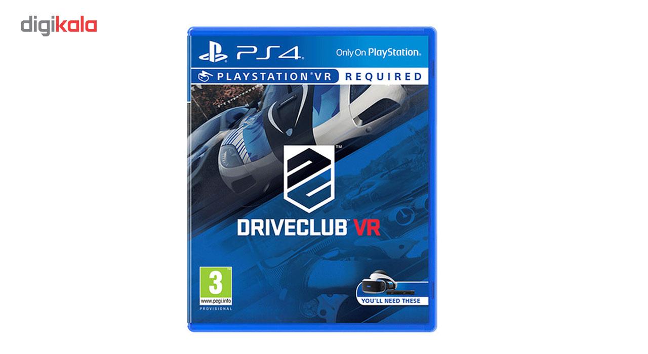 بازی  Drive Club VR مخصوص PS4