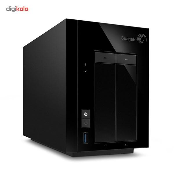 ذخیره ساز تحت شبکه سیگیت مدل Pro 2-Bay STDD10000200 ظرفیت 10 ترابایت