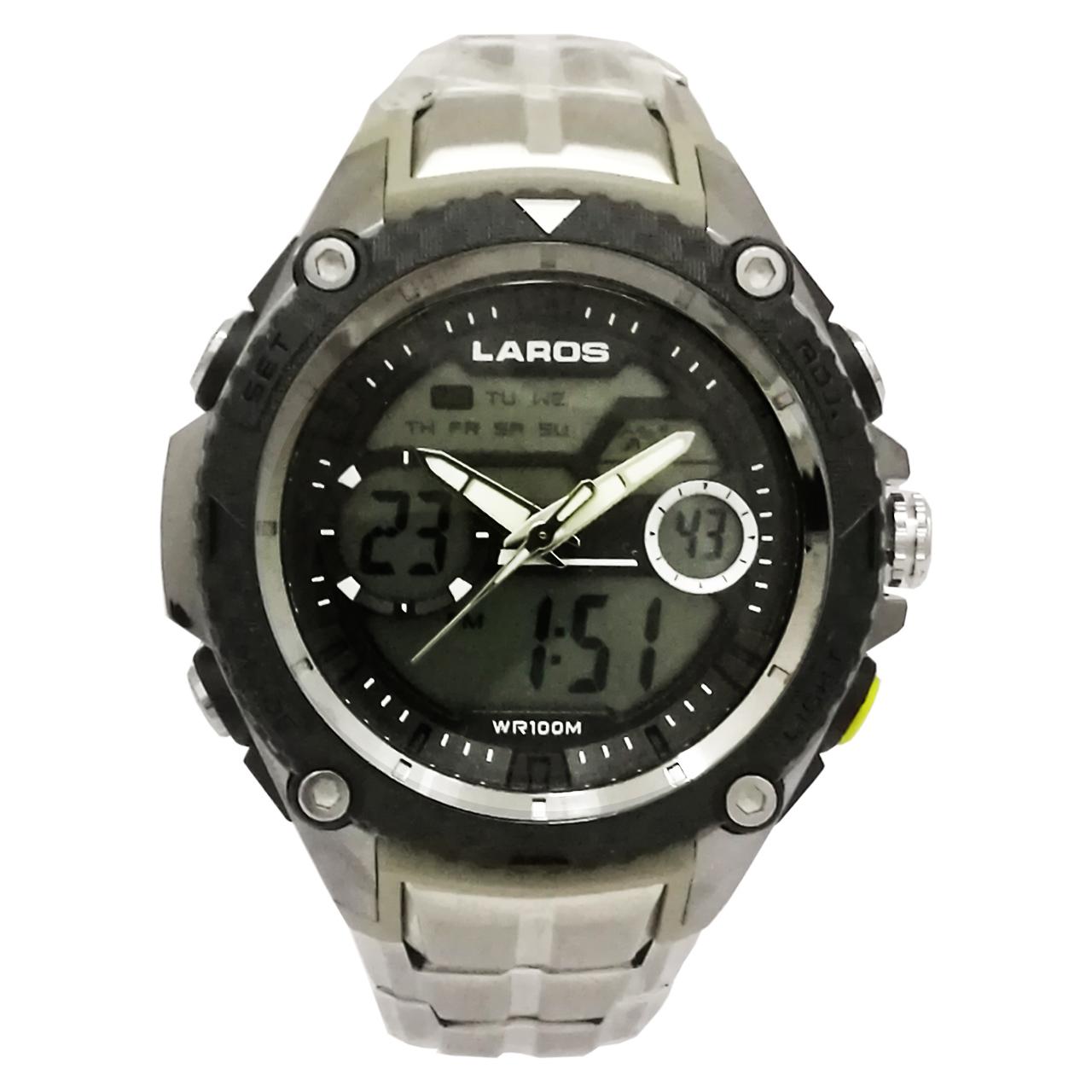ساعت مچی عقربه ای دیجیتال لاروس مدل0317-ad1146