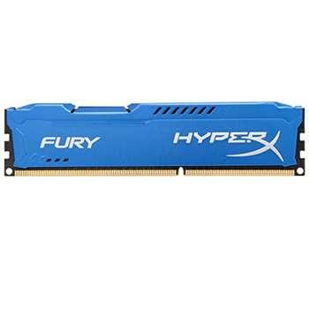رم کامپیوتر کینگستون مدل HyperX Fury DDR3 1600MHz CL10 ظرفیت 8 گیگابایت