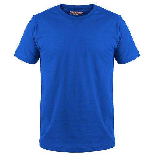 تی شرت مردانه سیمپل  مدل sw3-Blue