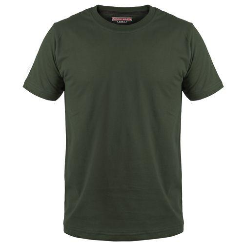تی شرت مردانه سیمپل  مدل sw3-green