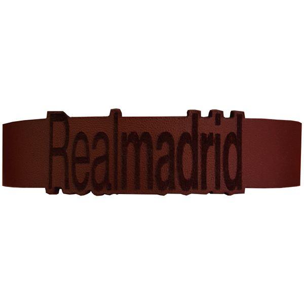 دستبند چرمی مدل رئال مادرید کد 1017