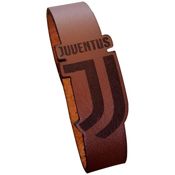 دستبند چرمی مدل یوونتوس کد 4018