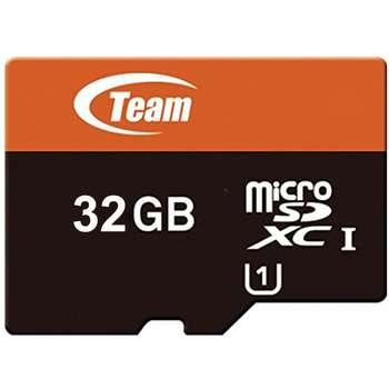 کارت حافظه MicroSDHC تیم گروپ کلاس 10 استاندارد UHS-I U1 سرعت 80MBps ظرفیت 32 گیگابایت