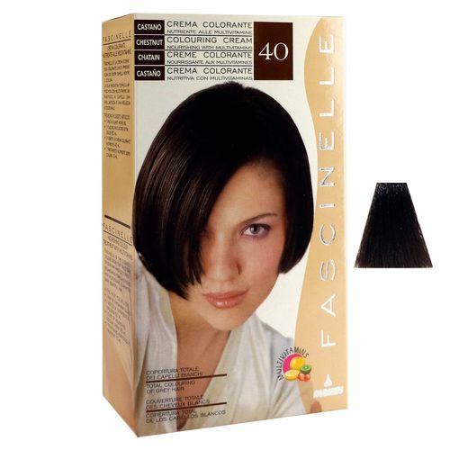 كيت رنگ مو فشینلی سری Natural مدل شاه بلوطي شماره 40