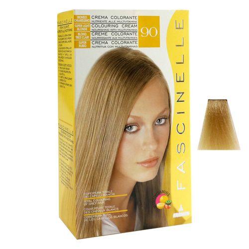 كيت رنگ مو فشینلی سری Blonde مدل بلوند آفتابي روشن شماره 90
