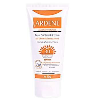 کرم ضد آفتاب رنگی آردن SPF30 مقدار 50 گرم