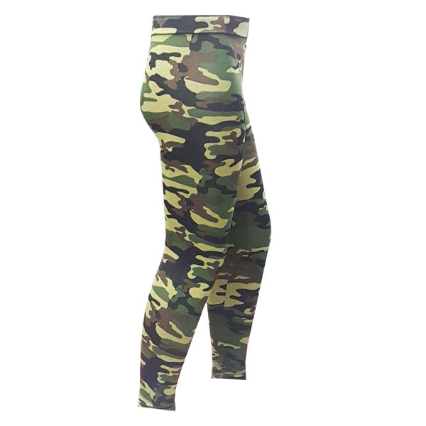 ساق شلواری زنانه بانومد طرح نظامی