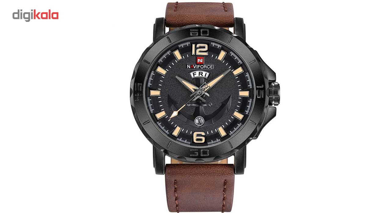 خرید ساعت مچی عقربهای مردانه نیوی فورس مدل NF9122BYDBN