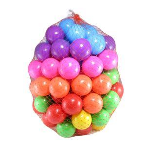 توپ استخر مدل شادی بسته 100 عددی سایز C