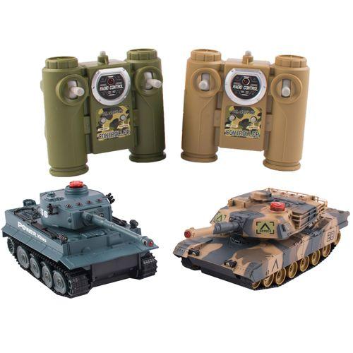 تانک کنترلی جنگجو مدل Battle Tank