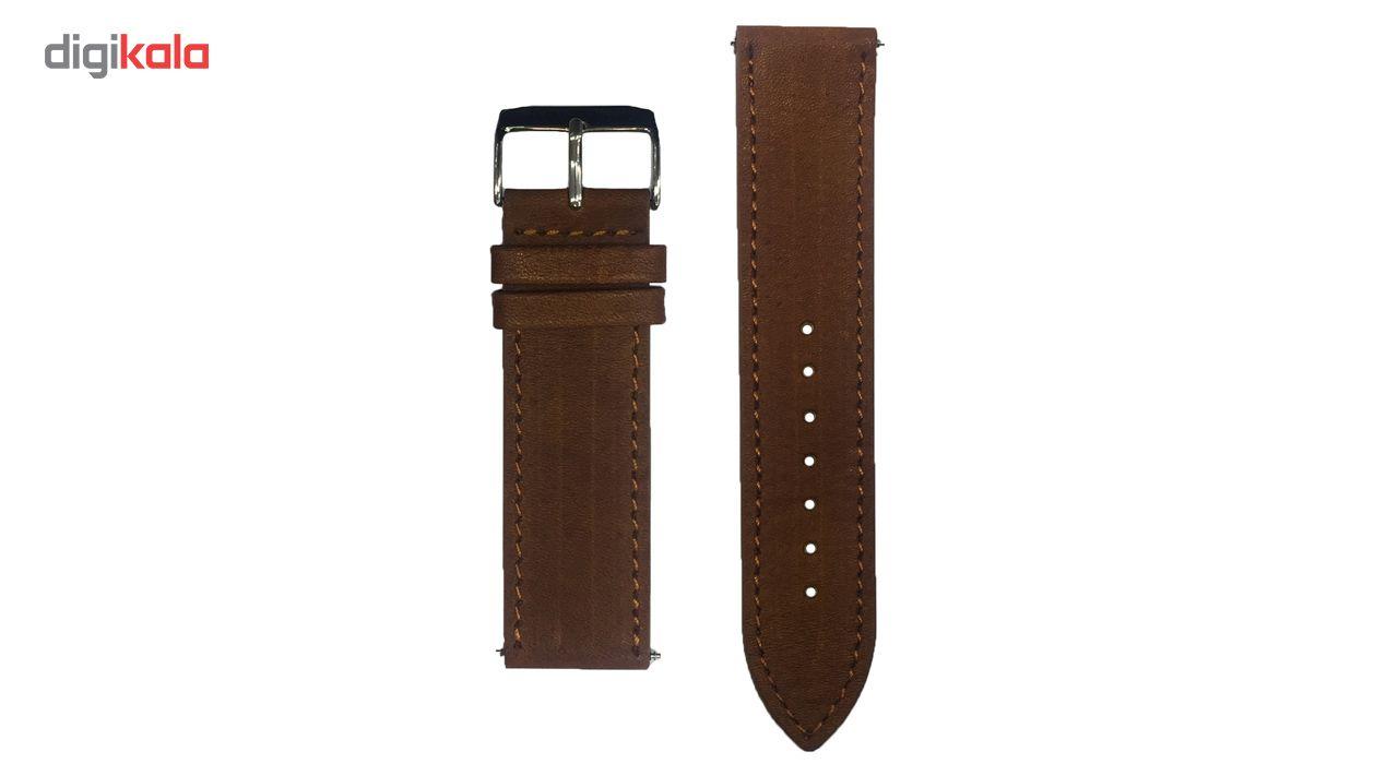 بند چرمی سامسونگ مدل Leather مناسب برای Gear S3 main 1 1