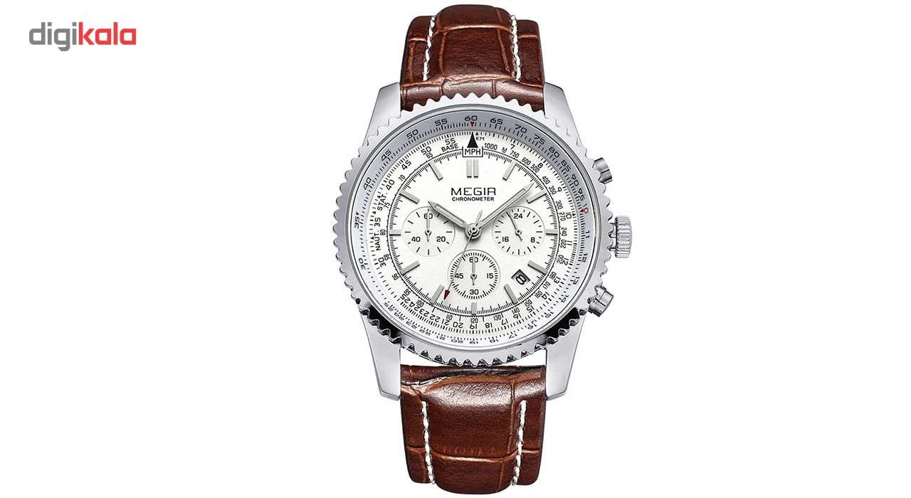 خرید ساعت مچی عقربه ای مردانه مگیر مدل ML2009GBN7