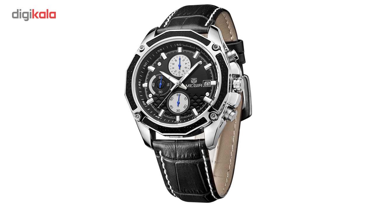 ساعت مچی عقربه ای مردانه مگیر مدل ML2015GBK1
