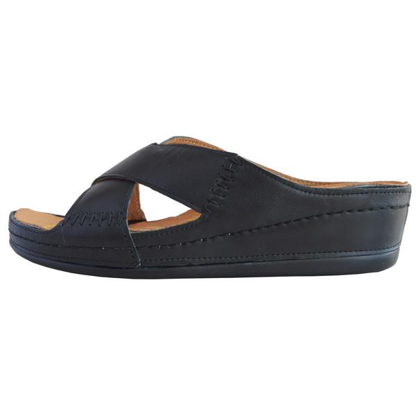 دمپایی زنانه کفش آداک کد 206 رنگ مشکی