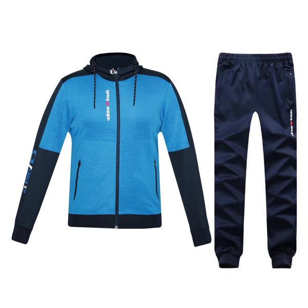 ست گرمکن و شلوار  ورزشی مردانه مدل 004