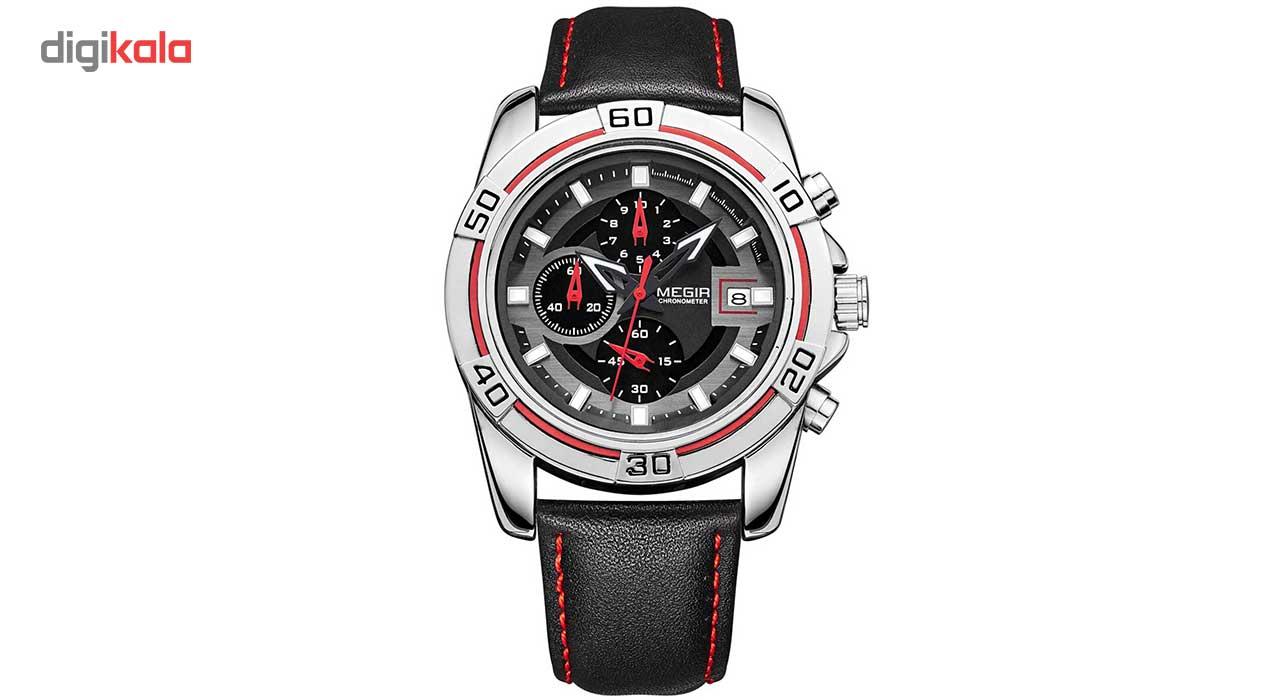 خرید ساعت مچی عقربه ای مردانه مگیر مدل ML2023GBK1