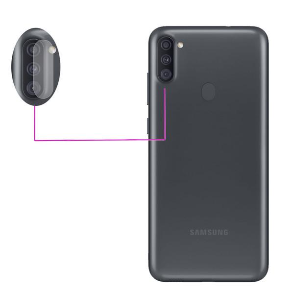 محافظ لنز دوربین مدل LTP مناسب برای گوشی موبایل سامسونگ Galaxy A11