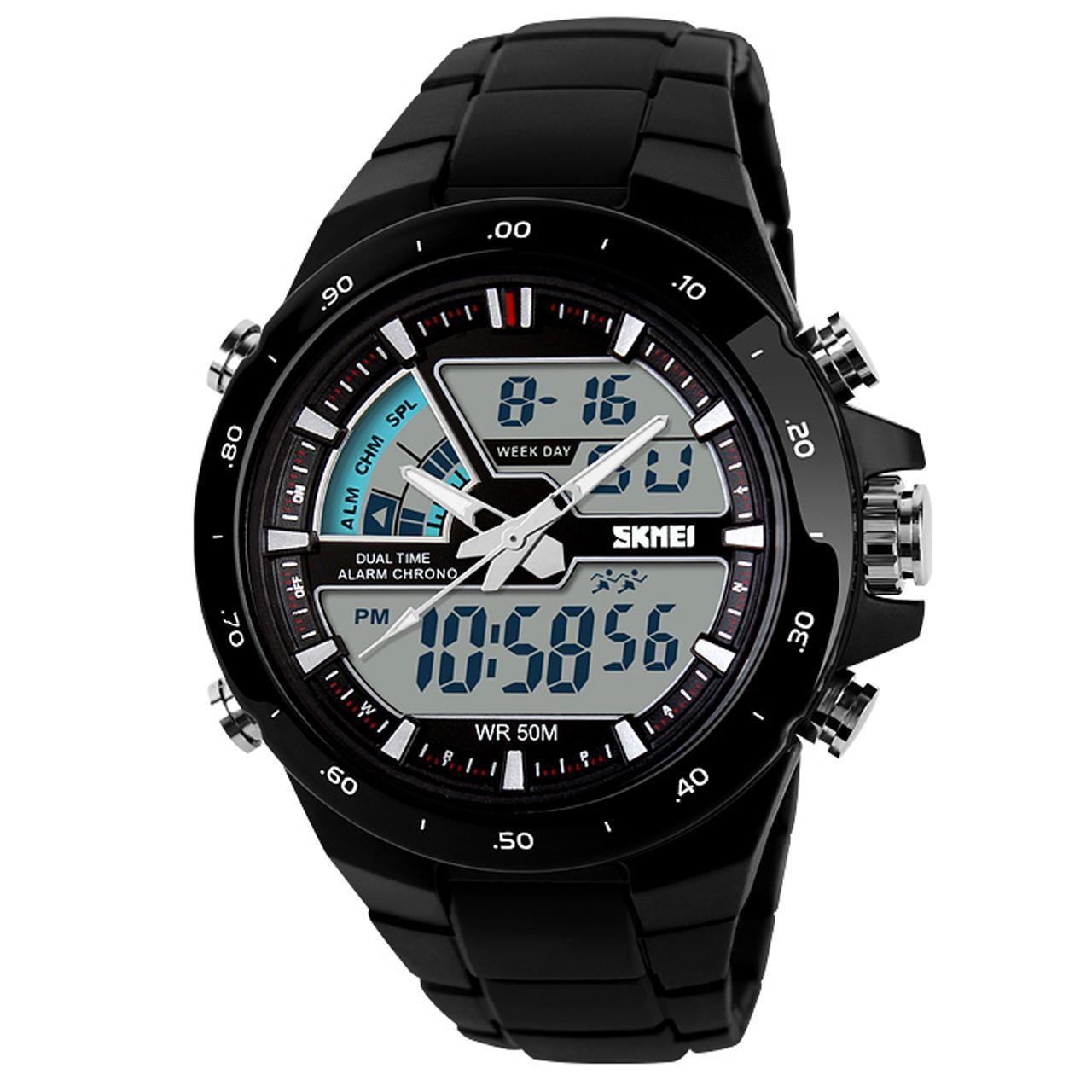 ساعت مچی عقربه ای مردانه اسکمی مدل 1016 کد 01