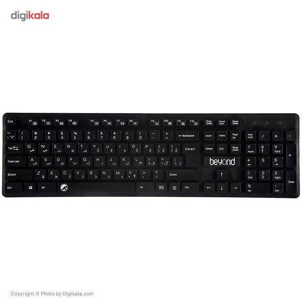 کیبورد بیاند مدل FCR-2235 با حروف فارسی  Beyond FCR-2235 Keyboard With Persian Letters