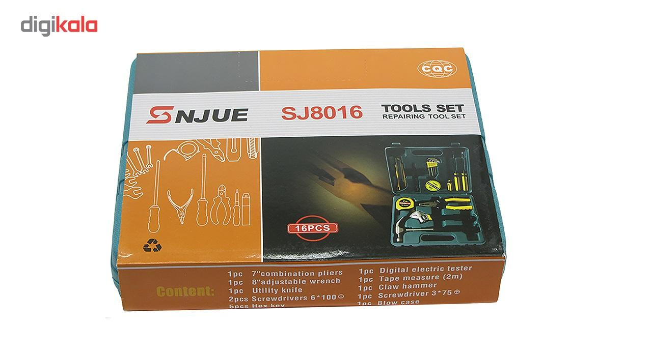 مجموعه 16 عددی ابزار اس ان جو مدل SJ8016 main 1 2