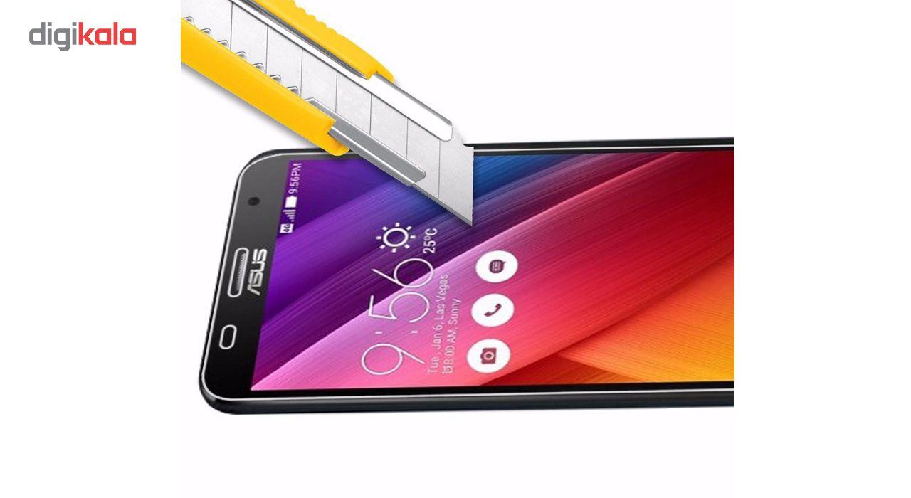 محافظ صفحه نمایش شیشه ای لاین مدل 2.5D مناسب برای گوشی ایسوس Zenfone 2 ZE551ML main 1 3