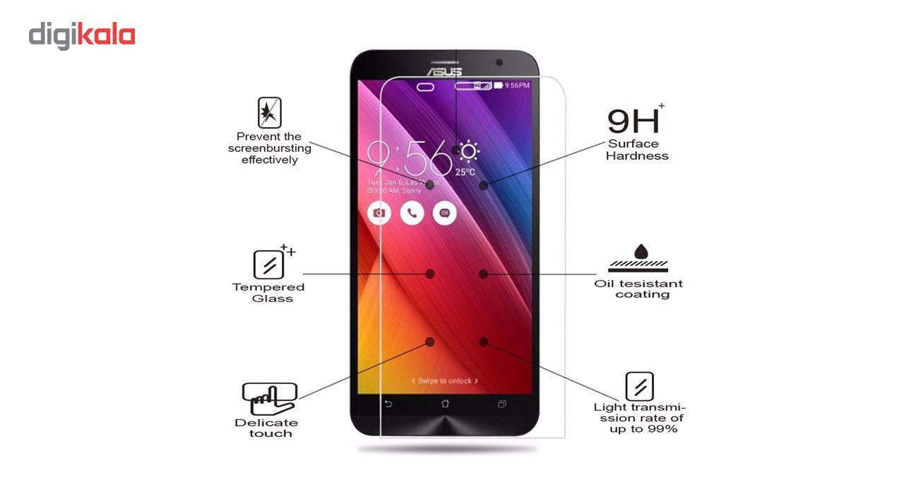 محافظ صفحه نمایش شیشه ای لاین مدل 2.5D مناسب برای گوشی ایسوس Zenfone 2 ZE551ML main 1 4