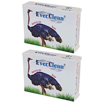 صابون اورکلین مدل Ostrich مجموعه 2 عددی حجم 70 گرم