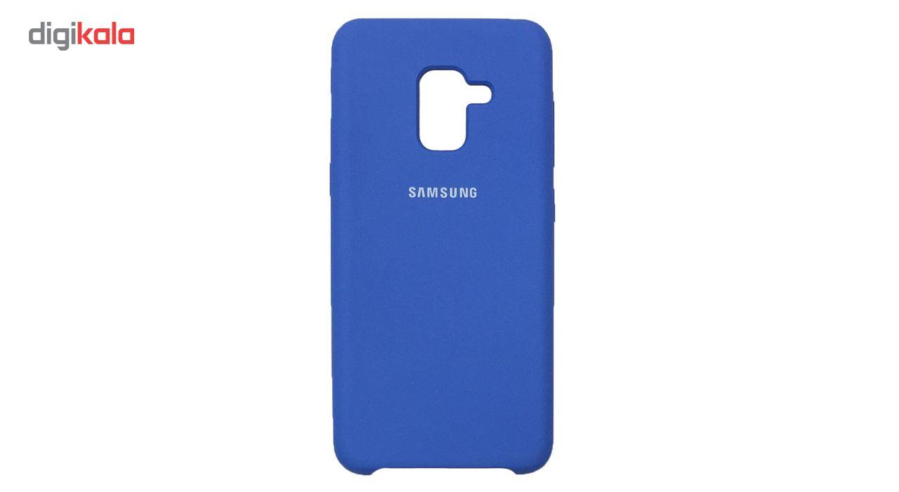کاور سیلیکونی مناسب برای گوشی موبایل سامسونگ Galaxy A8 2018 main 1 10