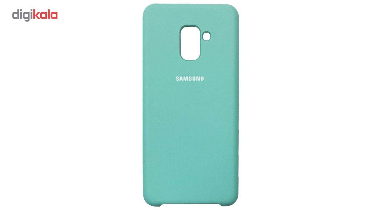 کاور سیلیکونی مناسب برای گوشی موبایل سامسونگ Galaxy A8 Plus 2018 main 1 9