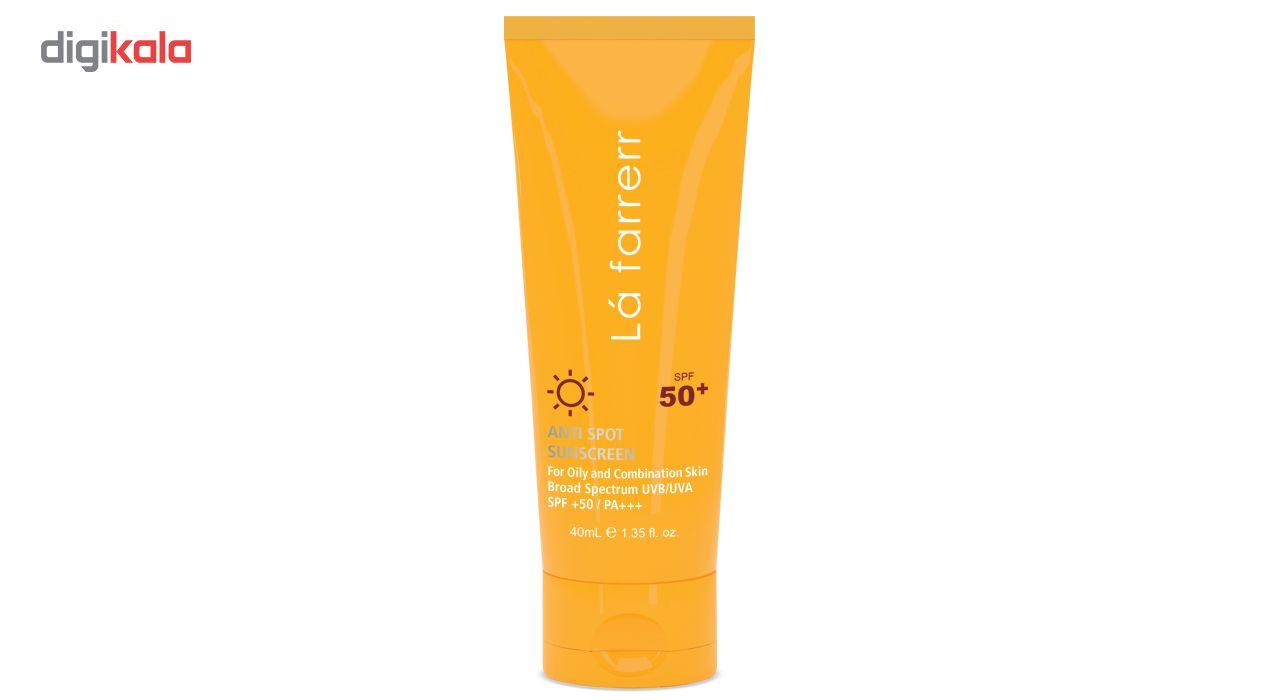 کرم ضد آفتاب و ضد لک لافارر مدل Oily and Acne-Prone SPF50 حجم 40 میلی لیتر main 1 1
