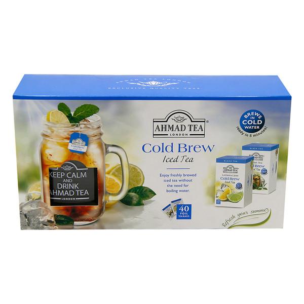 دمنوش کیسه ای احمد مدل cold brew بسته 40 عددی