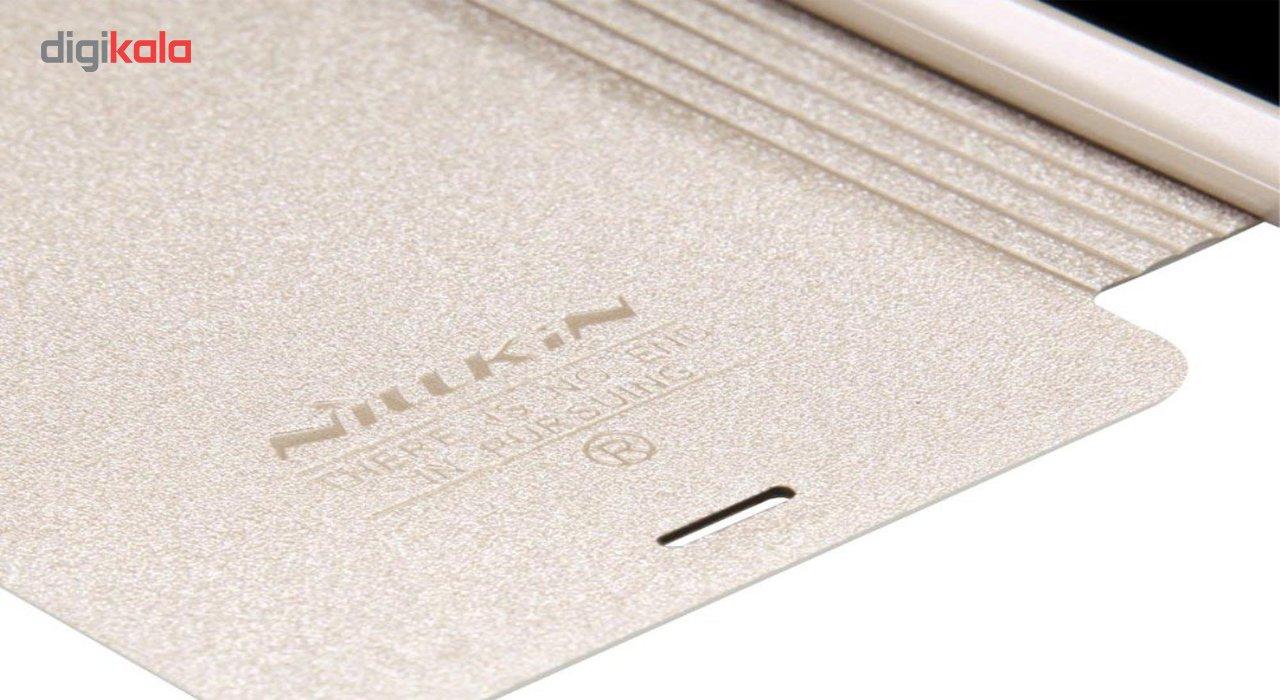 کیف کلاسوری نیلکین مدل New Leather Sparkle مناسب برای گوشی موبایل سامسونگ Galaxy Core 2 main 1 2