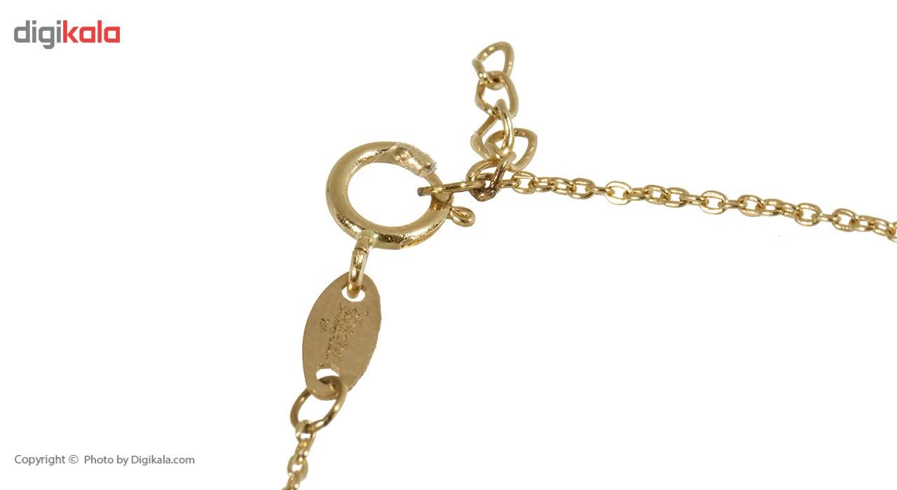 دستبند طلا 18 عیار ماهک مدل MB0288 - مایا ماهک -  - 1