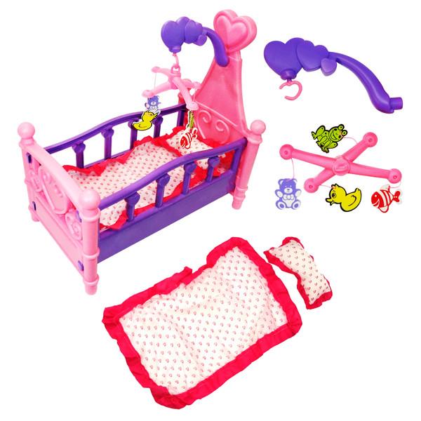 تخت خواب عروسک ژیونگ چنگ مدل Dream Sweet Bed 008-10