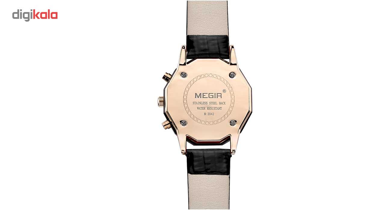 ساعت مچی عقربه ای مگیر مدل ML2042LREBK7N0              ارزان