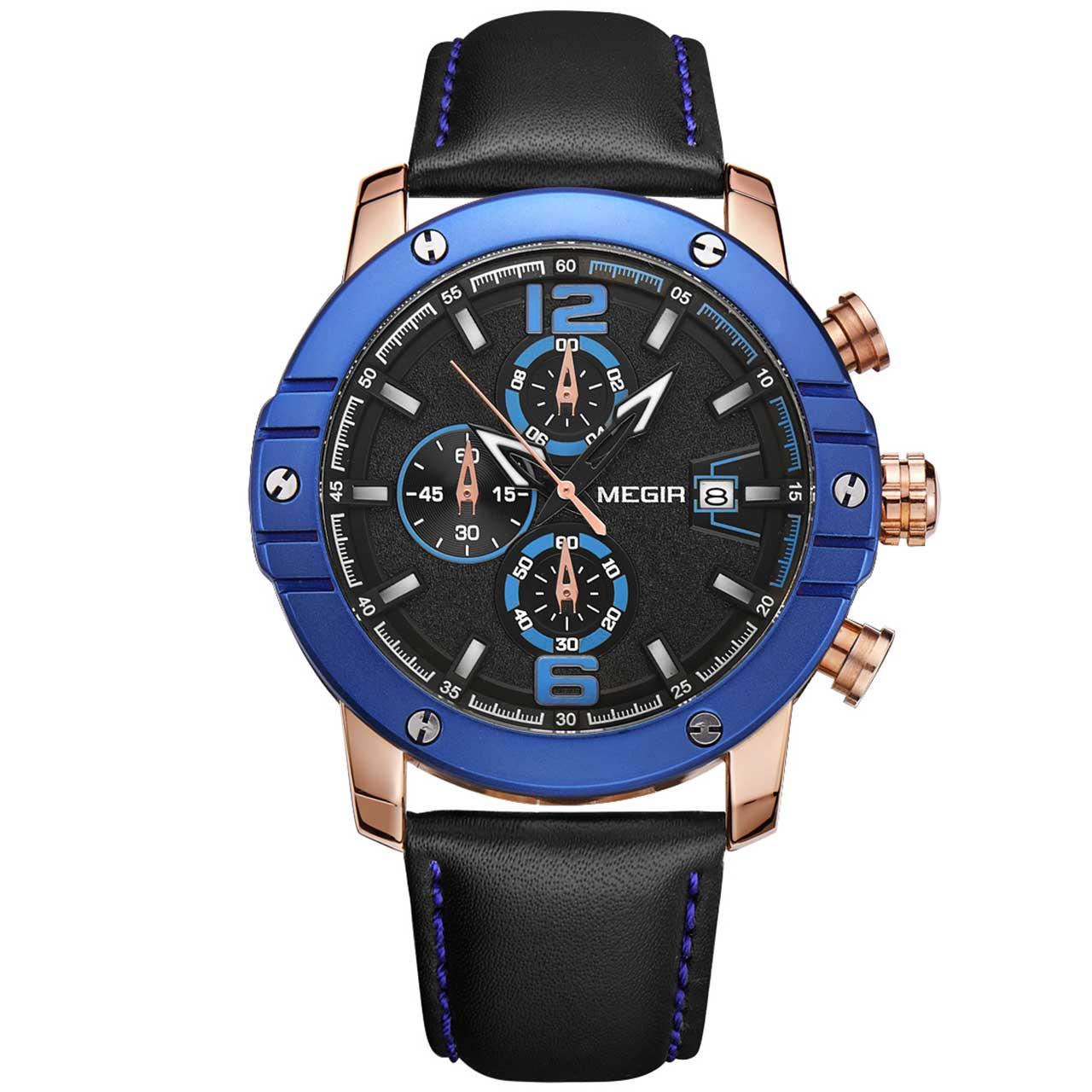 ساعت مچی عقربه ای مردانه مگیر مدل ML2046GREBK-1N2