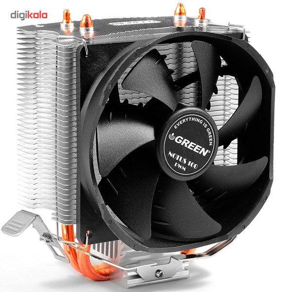 سیستم خنک کننده بادی گرین مدل NOTUS 100 - PWM main 1 3