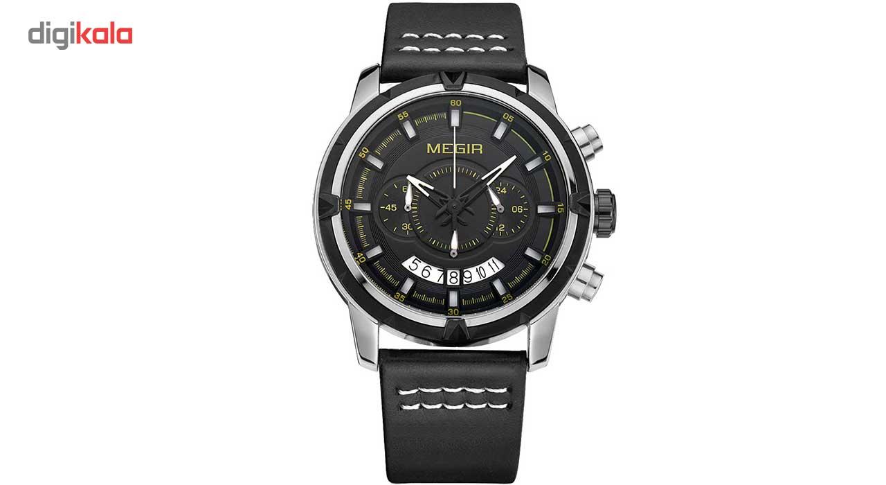 خرید ساعت مچی عقربه ای مردانه مگیر مدل ML2047GBK-1N13