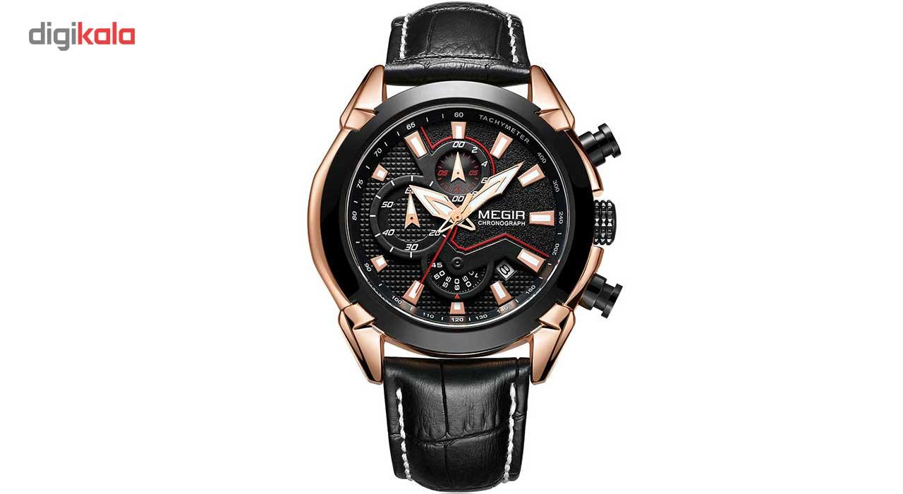 خرید ساعت مچی عقربه ای مردانه مگیر مدل ML2065GRE-BK-1N0