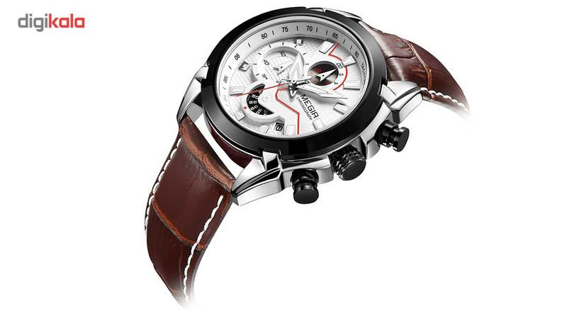 ساعت مچی عقربه ای مردانه مگیر مدل ML2065GS-BKBN-7