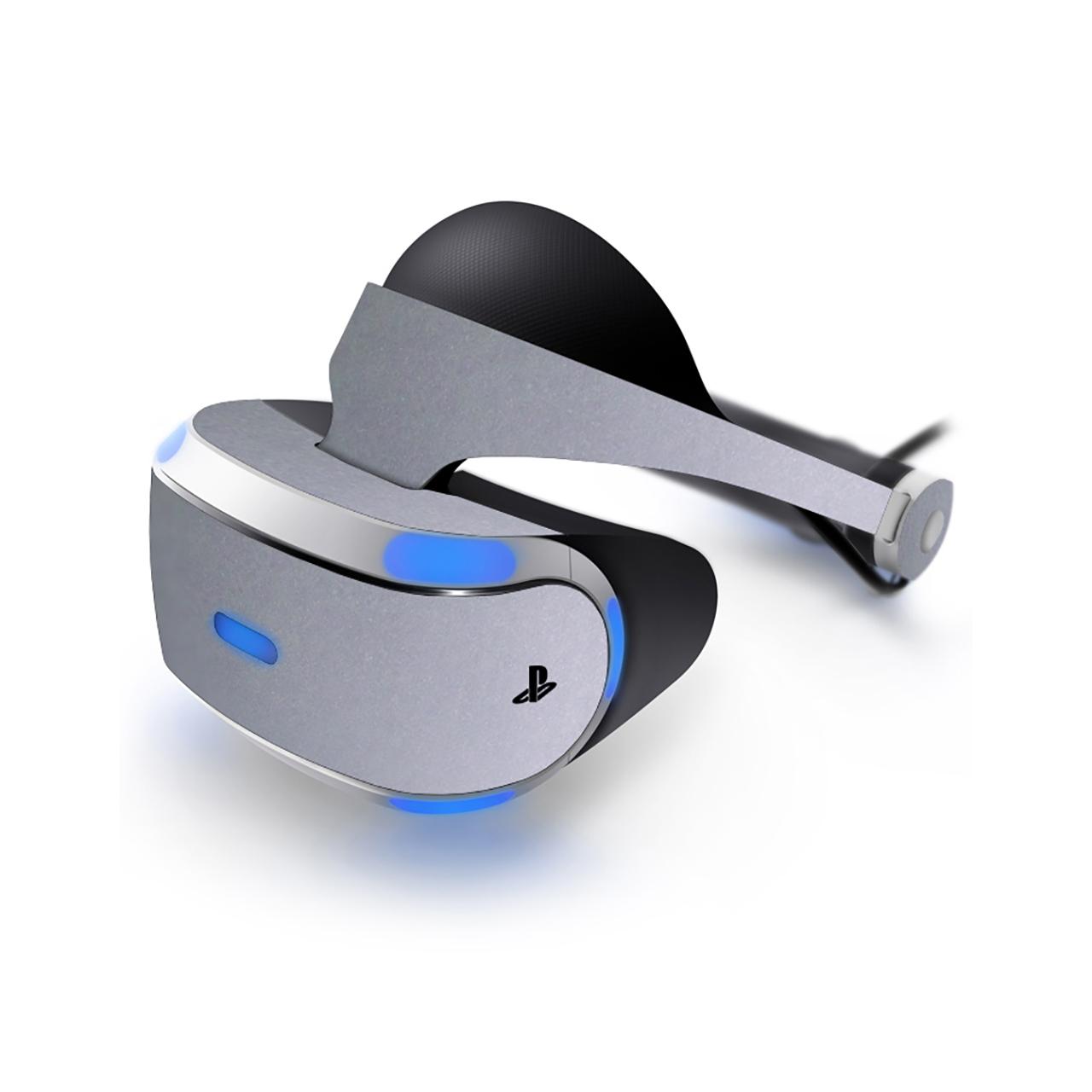برچسب رنگ Silver-matte ماهوت مناسب برای عینک واقعیت مجازی  PlayStation VR