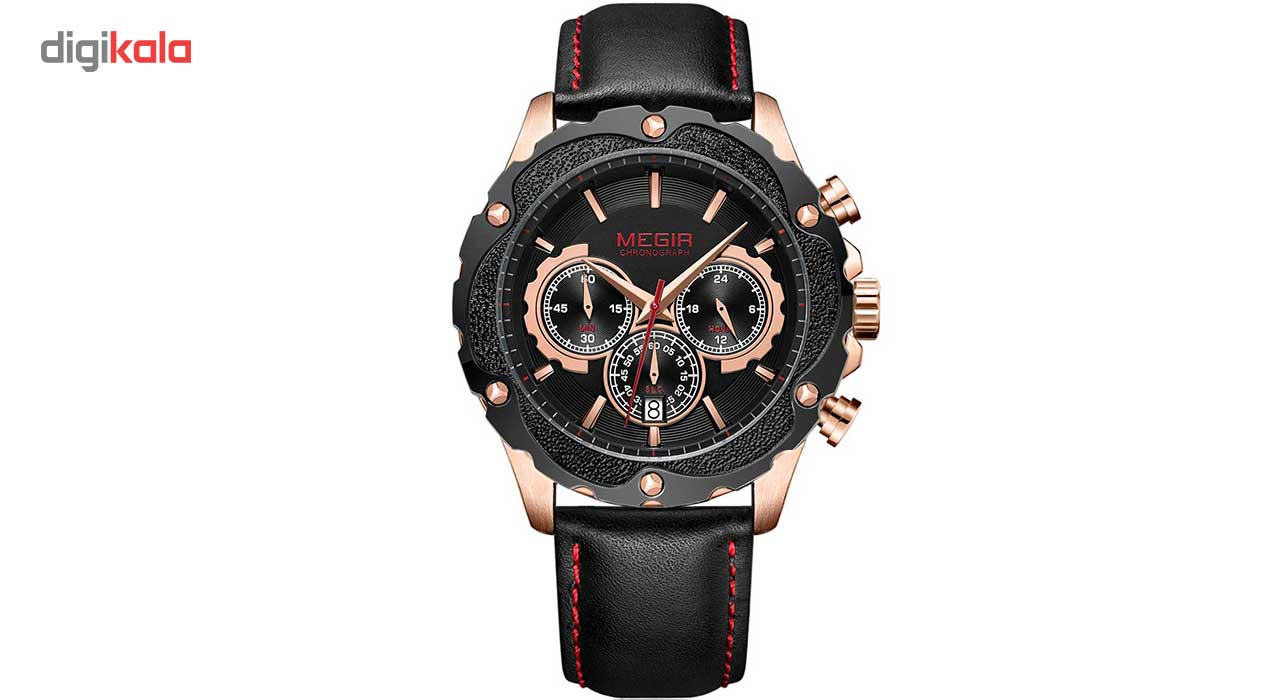 خرید ساعت مچی عقربه ای مردانه مگیر مدل ML2070GRE-BK-1N0