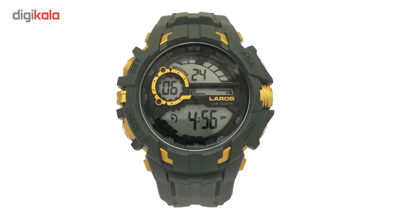 خرید ساعت مچی دیجیتالی لاروس مدل0817-m1073