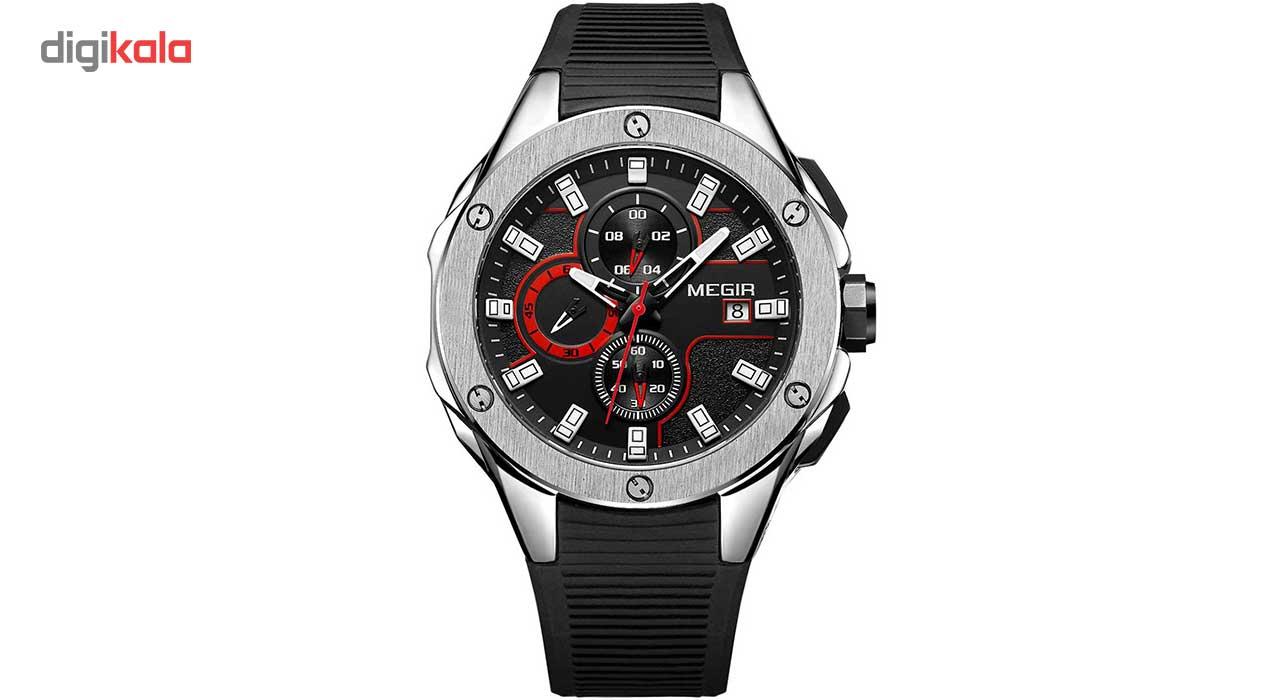 خرید ساعت مچی عقربه ای مردانه مگیر مدل MN2053GBK-1N8
