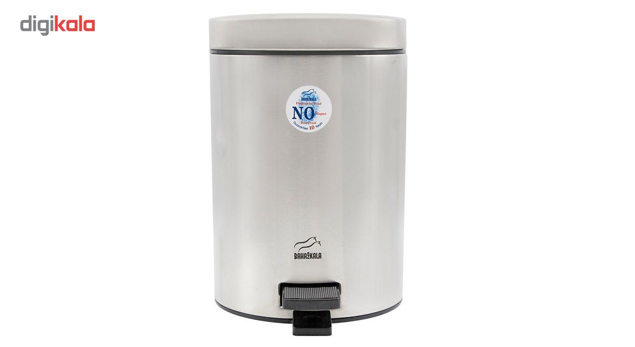 سطل زباله پدالی بهاز کالا مدل T.A-500 ظرفیت 3 لیتری main 1 1