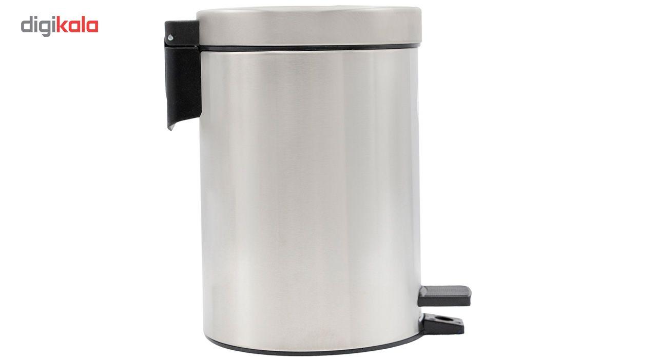 سطل زباله پدالی بهاز کالا مدل T.A-500 ظرفیت 3 لیتری main 1 3