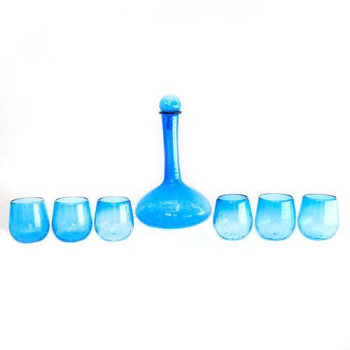 بطری و لیوان گالری انار مدل بارمان مجموعه 7 عددی