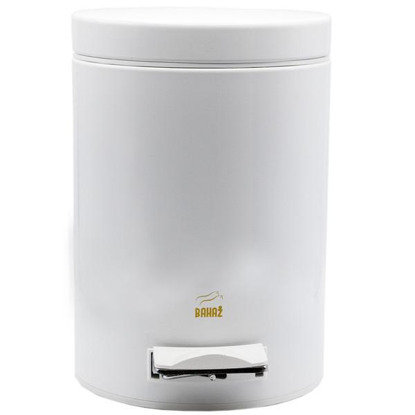 سطل زباله پدالی بهاز کالا مدل S-504 ظرفیت 6 لیتری